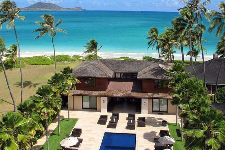 Kailua Home Hawaii Beautiful Mansions Pinterest