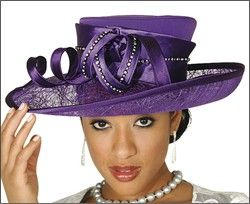 Fashion Hats for Women Reminds of the beautiful Church Hats my