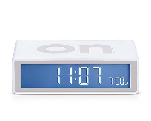 LCD alarm clock ON/OFF faces Electroluminous dial Touch sensor snooze ...