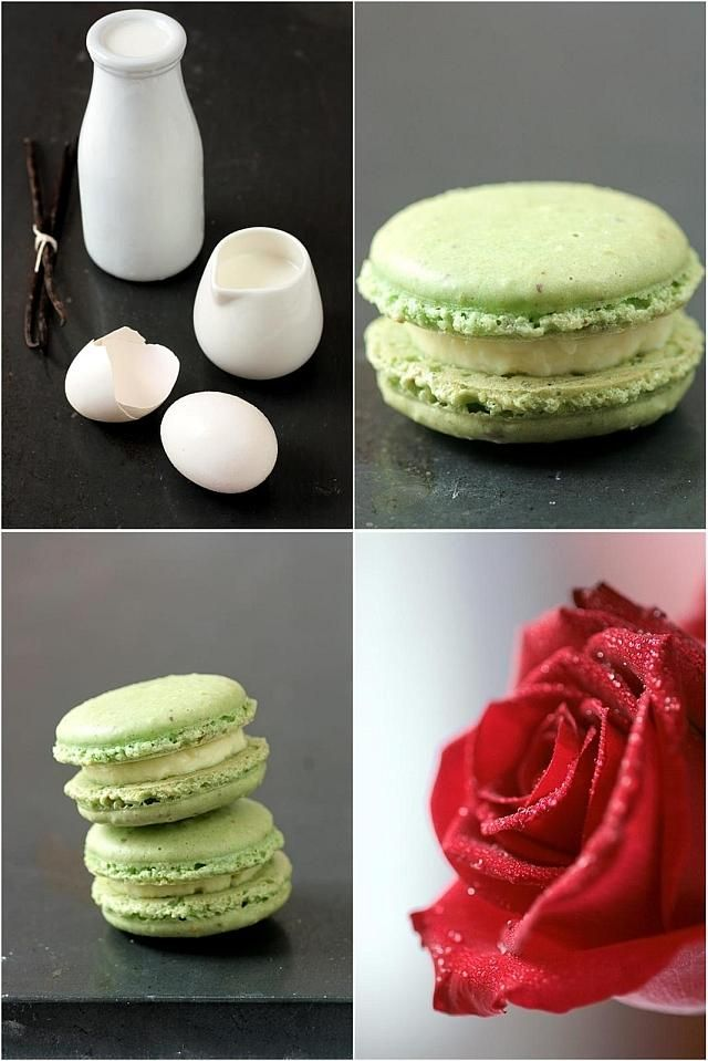 How To Make Creme Brulee Pistachio Macarons Desserts Recipes