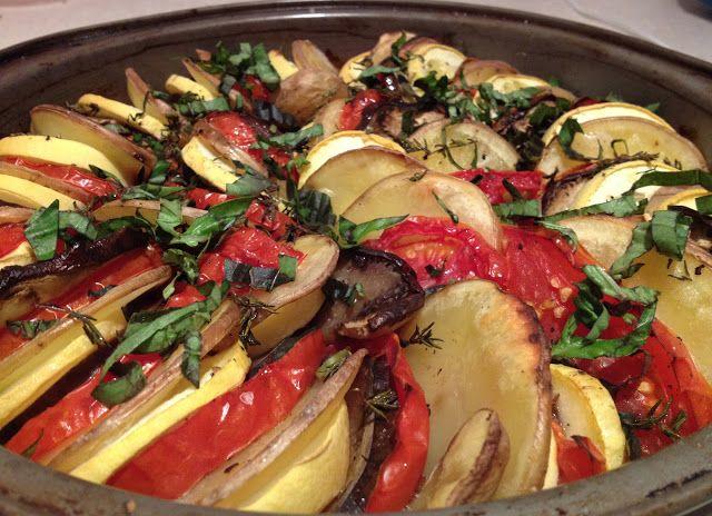 Eat, Run, Read: Provençal Vegetable Tian | Very Continental, Europe ...