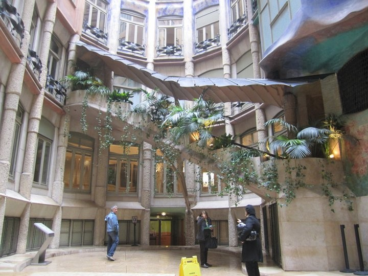 Pin by Charlotte Babb on For the Home | Pinterest Casa Mila Courtyard