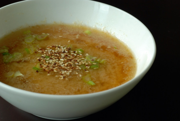 Lemon-Ginger Miso Soup | Food | Pinterest