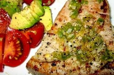 Grilled Jalapeno Tuna Steaks | Healthy Eats | Pinterest