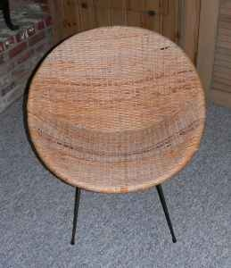 round wicker chair for the home pinterest