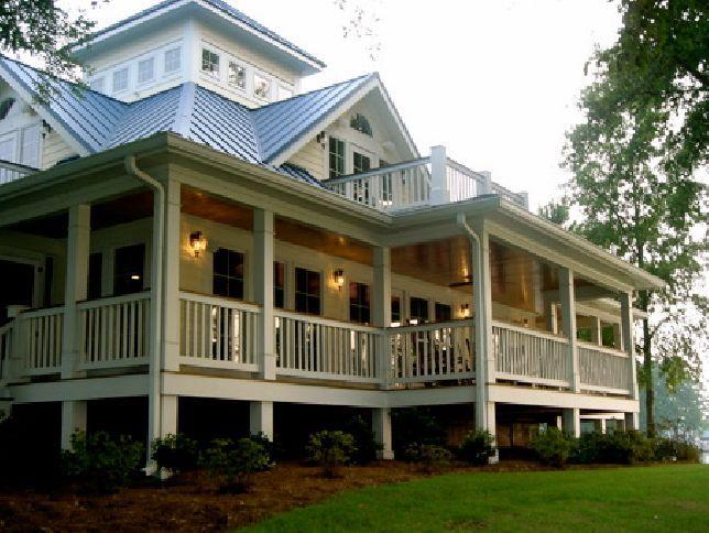 Southern coastal home plans dream home pinterest for Southern coastal homes