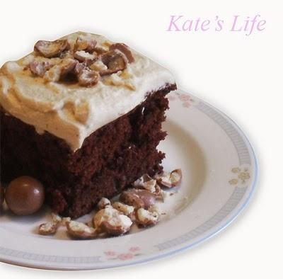 Chocolate Malt Cake | Cakes | Pinterest