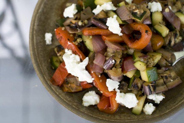 Turning classic French ratatouille into a salad