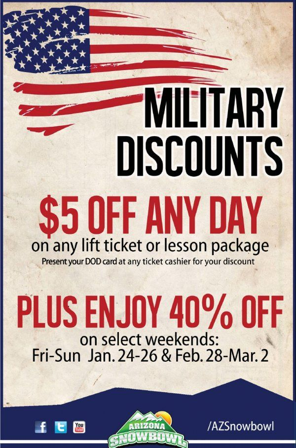 Southwest offers military discounts to active military personnel and their families. They are available by contacting Southwest directly, not online, via a travel booking site or through your.