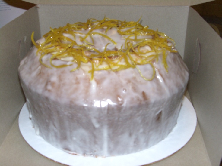 Meyer Lemon pound cake | Special Occasion Cakes | Pinterest