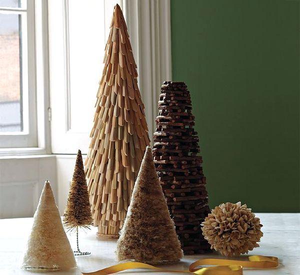 unique twig tree ornament design O Christmas Tree