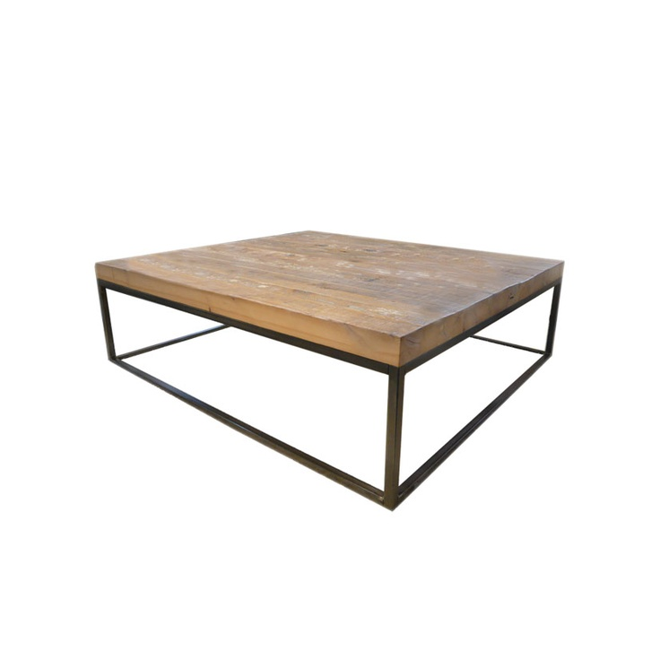 Iron Wood Coffee Table Iron Wood And Glass Pinterest