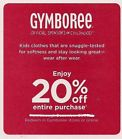 20 coupon for gymboree