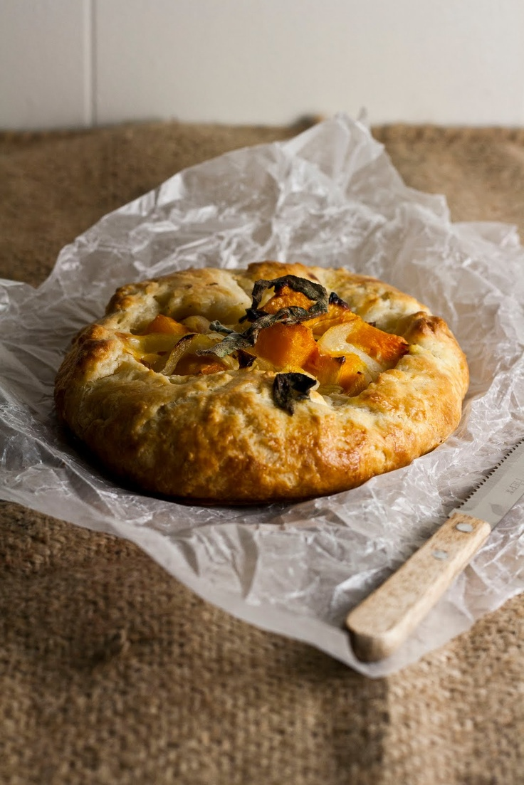 Hummingbird on High: Butternut Squash and Caramelized Onion Galette