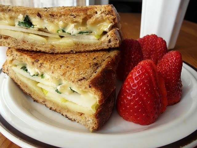 pear grilled cheese sandwich | Recipes -- Main Dish | Pinterest