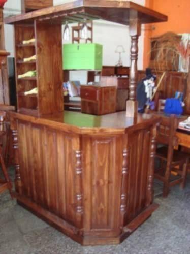 Pin by susana gutierrez gutierrez on barras de bar en casa - Barras de madera para bar ...