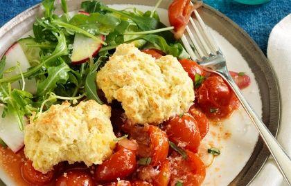 Mark Bittman Tomato Cobbler | Food and drink | Pinterest