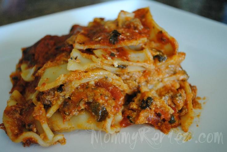Slow Cooker Recipe: Delizioso Lasagna | Crock Pot | Pinterest