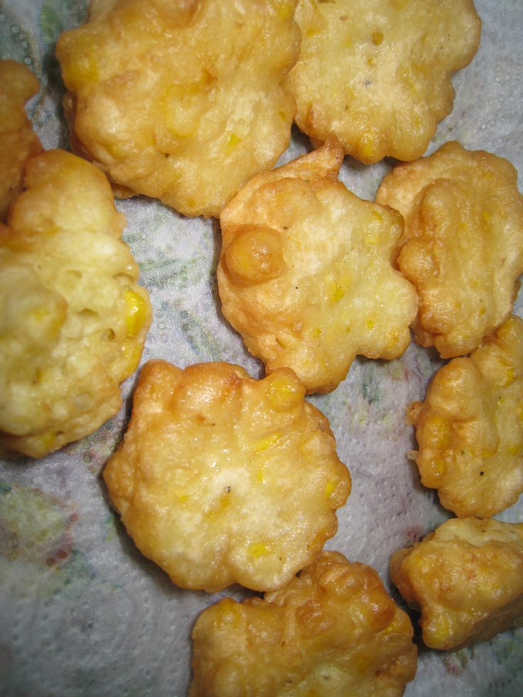 Corn Fritters | Foods to try | Pinterest