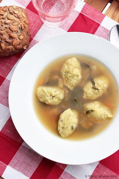 Semolina dumpling soup | In my Kitchen | Pinterest