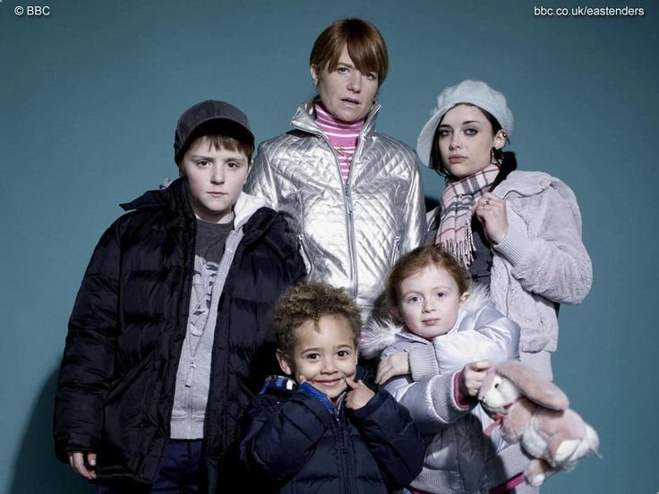 Bianca and all her babies. (EastEnders)  the JACKSON 5