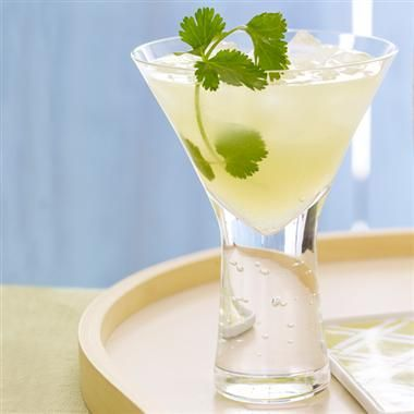 Pair cilantro and ginger in a cool cocktail for taco night. #recipe # ...