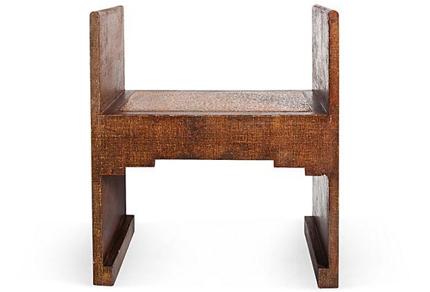 Small Wooden Bench : Small Wood Bench on OneKingsLane.com