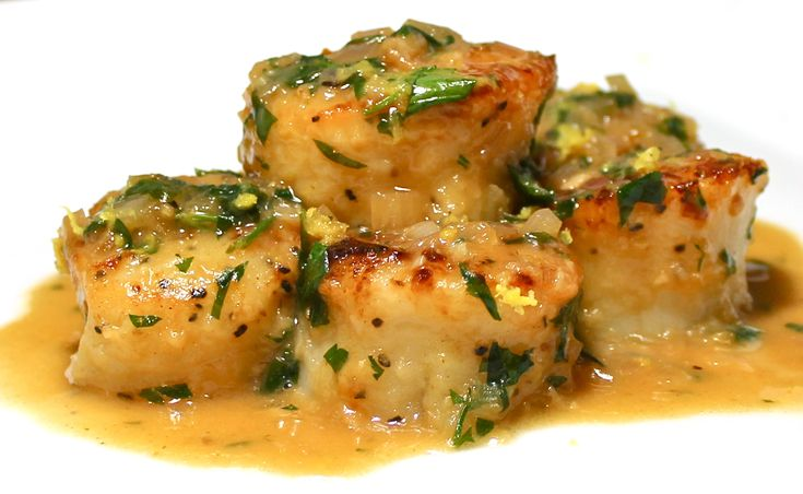 Scallops Provencal | Authentic Cooking | Pinterest