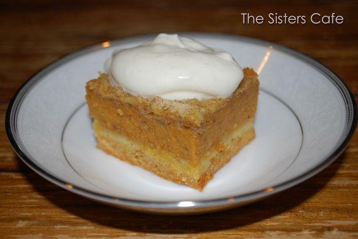 Pumpkin Pie Squares | Bars | Pinterest
