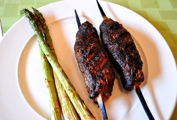 Spiced lamb kabobs | If I had a personal chef | Pinterest