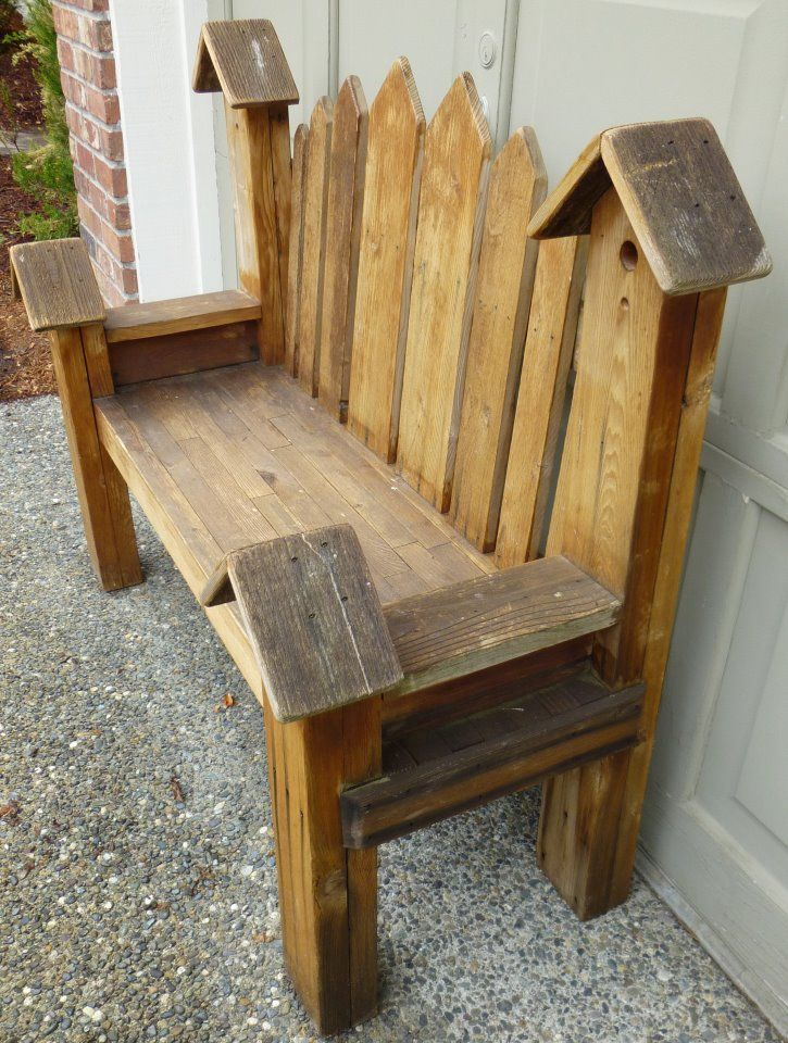 Rustic Garden Bench Garden Pinterest