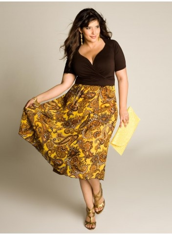 Plus Size Indian Spice Dress
