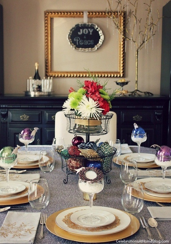 Christmas Tablescapes Blogging Pinterest