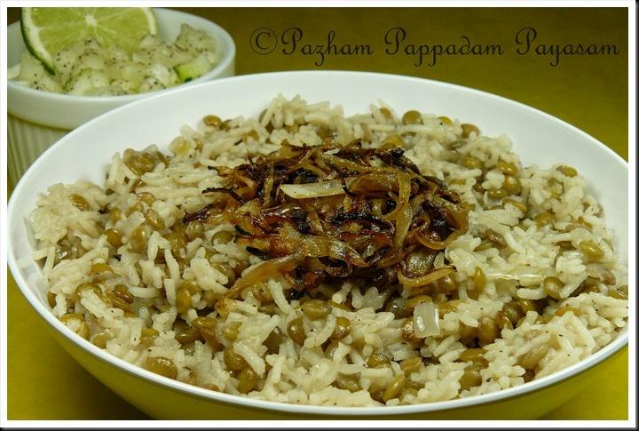 Mujadarah - lebanese lentils & rice   Salads   Pinterest
