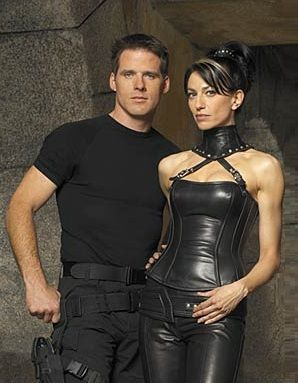 Ben Browder And Claudia Black Vala and Cameron #SG1 ...