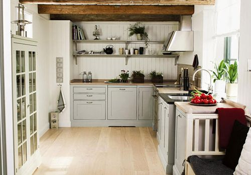 Simple country kitchen kitchens pinterest for Country kitchen remodel on a budget