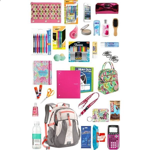 Backpack essentials for back to school