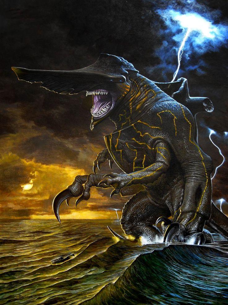 pacific rimPacific Rim Kaiju Knifehead