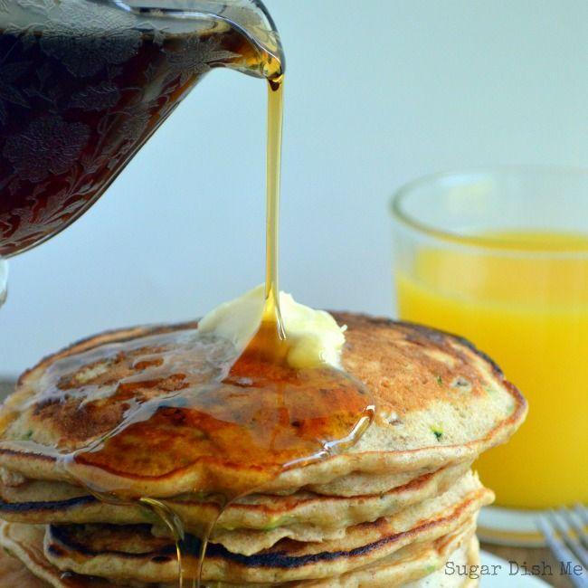 Zucchini Bread Pancakes | Recipe