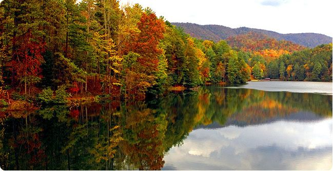 Unicoi Lake In Autumn Spectacular It S Fall Y All