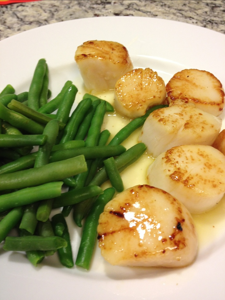 Shrimp And Scallops In A Lemon Butter Sauce Recipe — Dishmaps