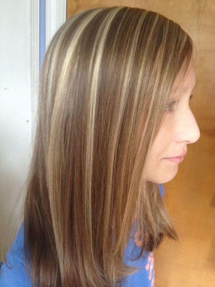 Blonde foiled hilites hair | hair ideas | Pinterest