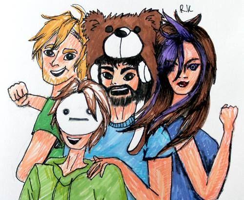 Cry ken minx youtubers gamers pewdiepie amp cryotic amp minx pinterest