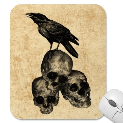Crow and skulls 2 skulls pinterest