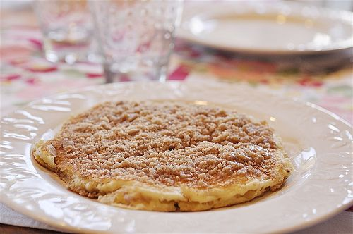 Cinnamon Streusel Pancakes. Ohhh, Mmmmmm!! (thanks sarah who thanks ...