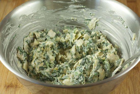 Spinach Artichoke Cups | Recipe