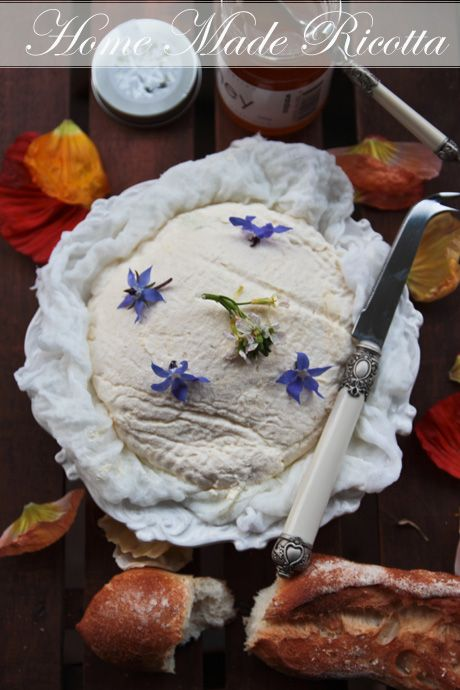 Made From Scratch: Fresh Whole Milk Ricotta   whole pasteurised milk ...