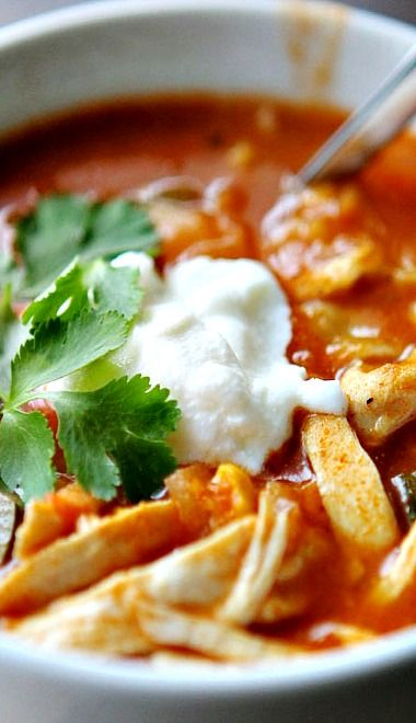 six can chicken tortilla soup recipes dishmaps six can chicken