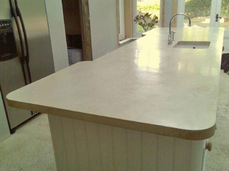 polished concrete worktops kitchens bungalow designs. Black Bedroom Furniture Sets. Home Design Ideas