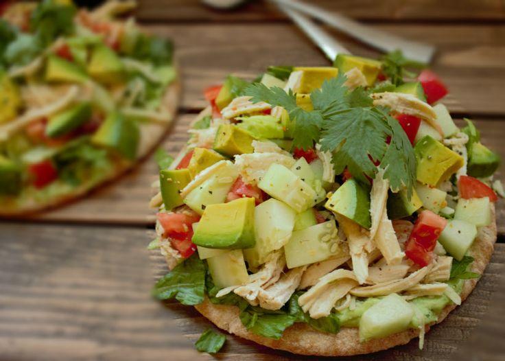 Cilantro and Avocado Pizza | Recipe